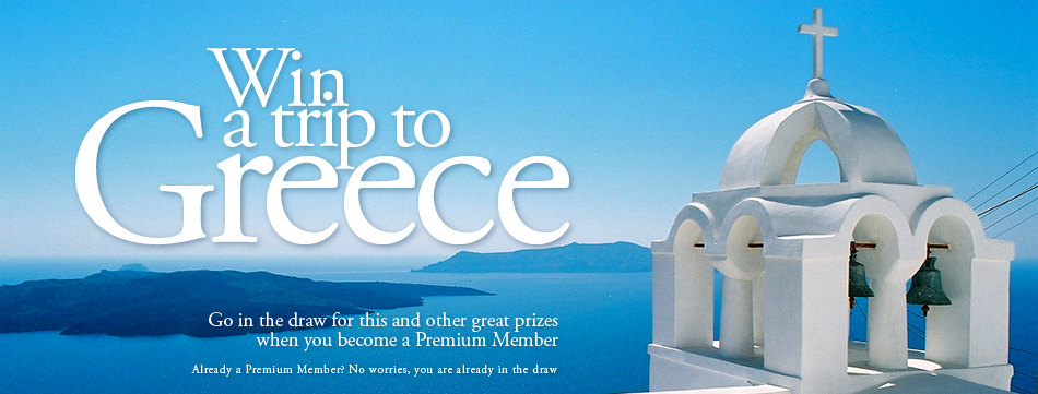 Win a Trip to Greece when you become a Premium Member of the Greek Orthodox Community of Melbourne and Victoria. Already a Premium Member? No worries, you are already in the draw.